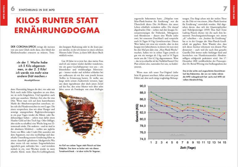 Ausführliche und aufwändig recherchierte Darstellung des Hintergrundes und der Wirkungsweise der Diät.